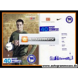 Autogramm Fussball | Hertha BSC Berlin | 2006 | Nico PELLATZ