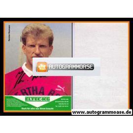 Autogramm Fussball | Hertha BSC Berlin | 1989 | Karsten NEUMANN