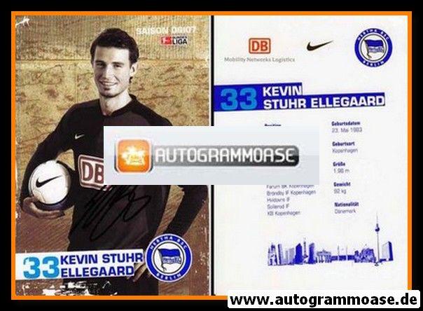 Autogramm Fussball   Hertha BSC Berlin   2006   Kevin STUHR ELLEGAARD