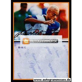Autogramm Fussball   Hertha BSC Berlin   2001 Foto   MARCELINHO (Spielszene)