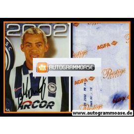 Autogramm Fussball   Hertha BSC Berlin   2002 Foto   MARCELINHO (Wappen)