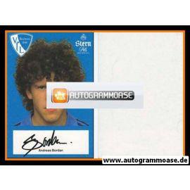 Autogramm Fussball | VfL Bochum | 1982 | Andreas BORDAN