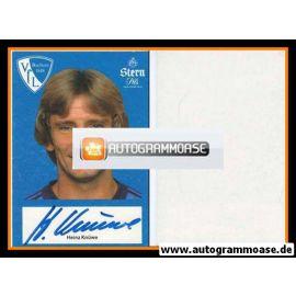 Autogramm Fussball | VfL Bochum | 1982 | Heinz KNÜWE