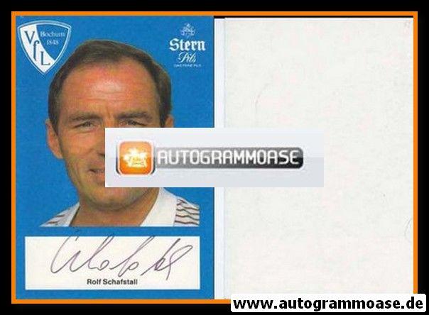 Autogramm Fussball | VfL Bochum | 1982 | Rolf SCHAFSTALL