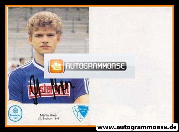 Autogramm Fussball | VfL Bochum | 1984 | Martin KREE