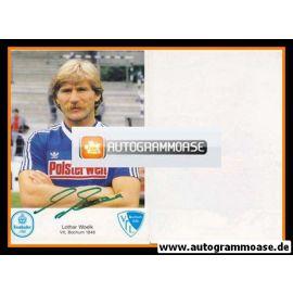 Autogramm Fussball | VfL Bochum | 1984 | Lothar WOELK