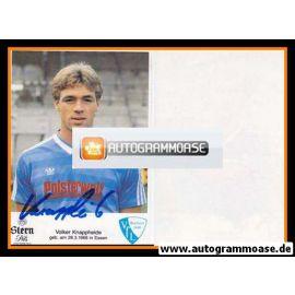 Autogramm Fussball | VfL Bochum | 1985 | Volker KNAPPHEIDE