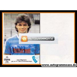 Autogramm Fussball   VfL Bochum   1985   Uwe WEGMANN