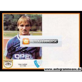 Autogramm Fussball | VfL Bochum | 1986 | Uwe LEIFELD