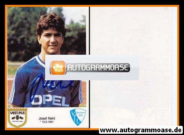 Autogramm Fussball | VfL Bochum | 1986 | Josef NEHL
