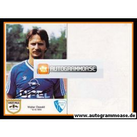 Autogramm Fussball | VfL Bochum | 1986 | Walter OSWALD