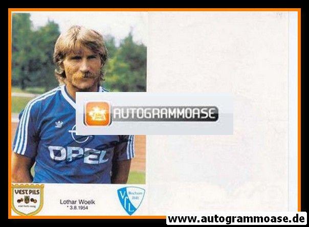 Autogramm Fussball | VfL Bochum | 1986 | Lothar WOELK