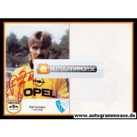 Autogramm Fussball | VfL Bochum | 1986 | Ralf ZUMDICK