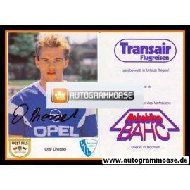 Autogramm Fussball   VfL Bochum   1987   Olaf DRESSEL