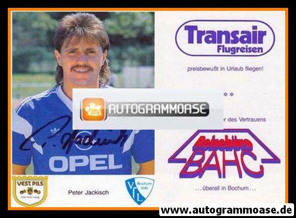 Autogramm Fussball | VfL Bochum | 1987 | Peter JACKISCH