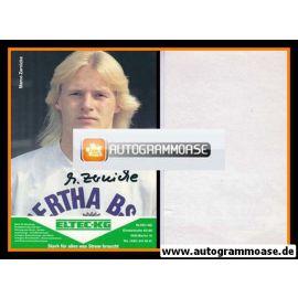 Autogramm Fussball | Hertha BSC Berlin | 1989 | Marco ZERNICKE