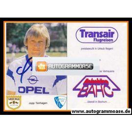 Autogramm Fussball | VfL Bochum | 1987 | Franz-Josef TENHAGEN