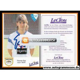 Autogramm Fussball | VfL Bochum | 1988 | Thomas EPP