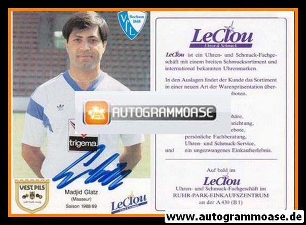 Autogramm Fussball | VfL Bochum | 1988 | Madjid GLATZ