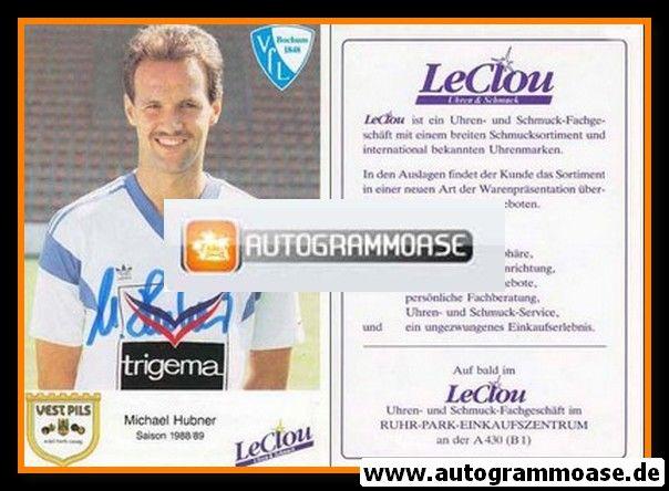 Autogramm Fussball | VfL Bochum | 1988 | Michael HUBNER