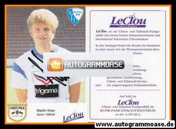 Autogramm Fussball | VfL Bochum | 1988 | Martin KREE