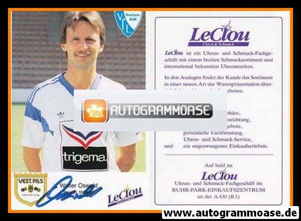 Autogramm Fussball | VfL Bochum | 1988 | Walter OSWALD