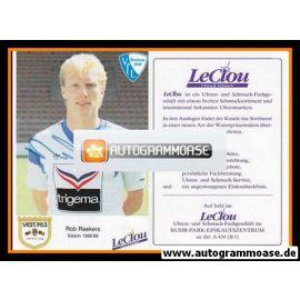 Autogramm Fussball | VfL Bochum | 1988 | Rob REEKERS