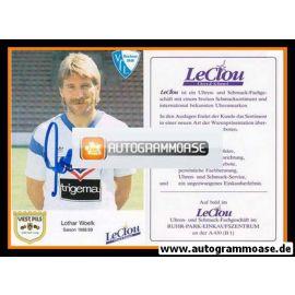 Autogramm Fussball   VfL Bochum   1988   Lothar WOELK