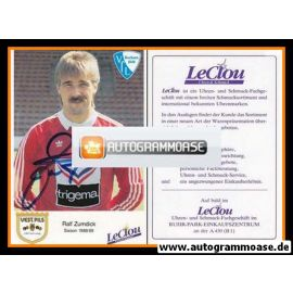 Autogramm Fussball   VfL Bochum   1988   Ralf ZUMDICK