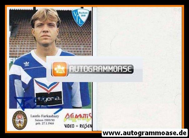 Autogramm Fussball | VfL Bochum | 1989 | Laszlo FARKASHAZY