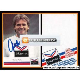 Autogramm Fussball | Hertha BSC Berlin | 1990 | Werner FUCHS