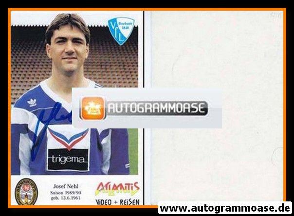 Autogramm Fussball | VfL Bochum | 1989 | Josef NEHL