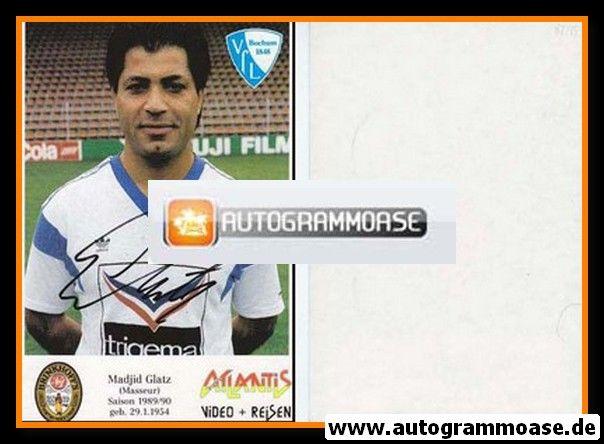 Autogramm Fussball | VfL Bochum | 1989 | Madjid GLATZ