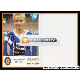 Autogramm Fussball | VfL Bochum | 1989 | Frank HEINEMANN
