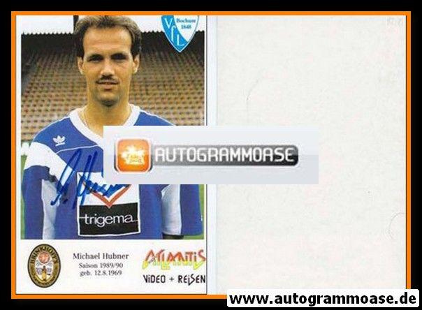 Autogramm Fussball   VfL Bochum   1989   Michael HUBNER