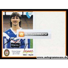 Autogramm Fussball | VfL Bochum | 1989 | Thomas KEMPE