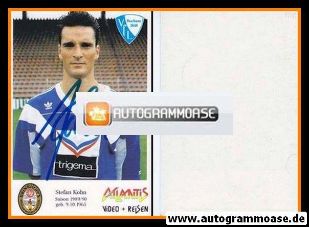 Autogramm Fussball | VfL Bochum | 1989 | Stefan KOHN