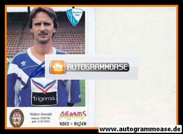 Autogramm Fussball | VfL Bochum | 1989 | Walter OSWALD (Atlantis)