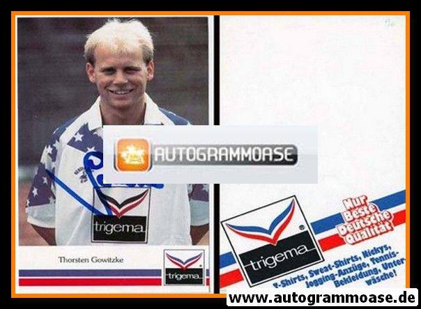Autogramm Fussball | Hertha BSC Berlin | 1990 | Thorsten GOWITZKE