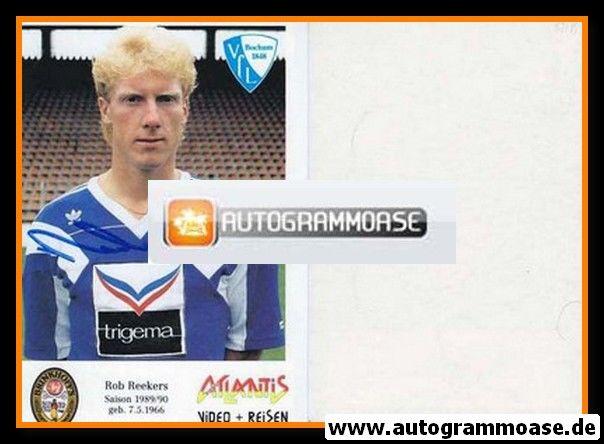 Autogramm Fussball | VfL Bochum | 1989 | Rob REEKERS