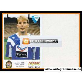 Autogramm Fussball   VfL Bochum   1989   Andreas RIDDER