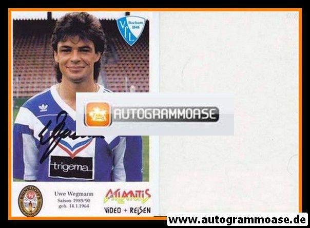 Autogramm Fussball | VfL Bochum | 1989 | Uwe WEGMANN