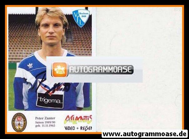 Autogramm Fussball   VfL Bochum   1989   Peter ZANTER