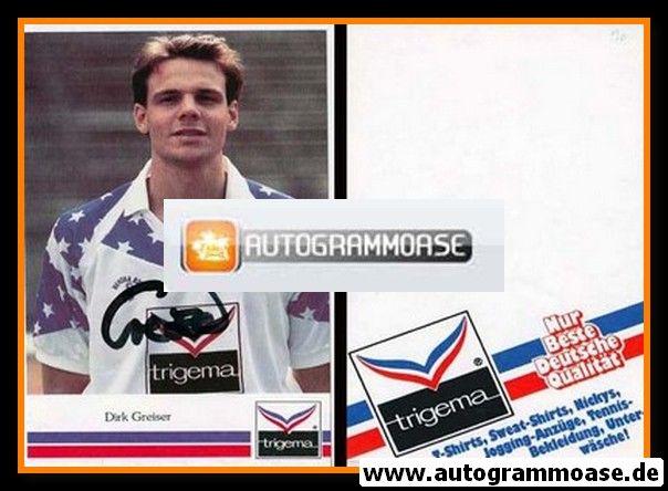 Autogramm Fussball | Hertha BSC Berlin | 1990 | Dirk GREISER