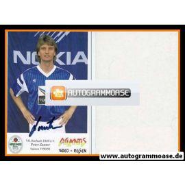 Autogramm Fussball | VfL Bochum | 1990 | Peter ZANTER