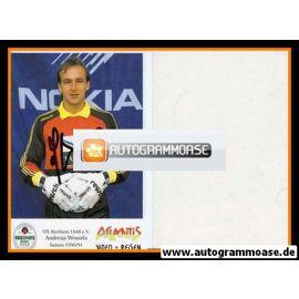 Autogramm Fussball   VfL Bochum   1990   Andreas WESSELS