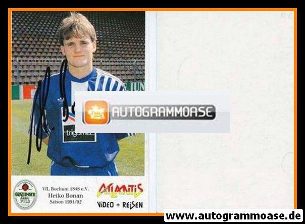 Autogramm Fussball | VfL Bochum | 1991 Atlantis | Heiko BONAN