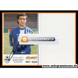 Autogramm Fussball   VfL Bochum   1991 Atlantis   Antonio CABO