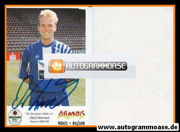 Autogramm Fussball | VfL Bochum | 1991 Atlantis | Olaf DRESSEL