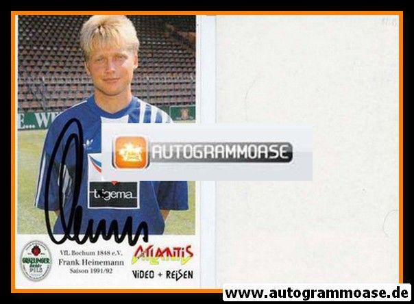 Autogramm Fussball | VfL Bochum | 1991 Atlantis | Frank HEINEMANN